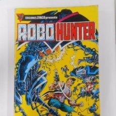 Cómics: ROBO HUNTER. NUMEROS 1, 2, 3, 4, 5. RETAPADO. EDICIONES ZINCO. TDKC12. Lote 52447875