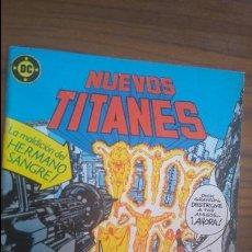 Comics: NUEVOS TITANES 36. LA MALDICIÓN DEL HERMANO SANGRE. . Lote 52472983