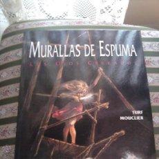 Cómics: MURALLAS DE ESPUMA LOS OJOS CERRADOS. Lote 50157874