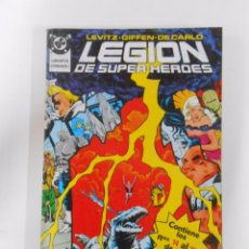 Cómics: LEGION DE SUPER-HEROES. RITOS DE TRANSICION. NUMEROS 14, 15, 16, 17, 18. LEVISTZ. GIFFEN. TDKC12. Lote 52507569