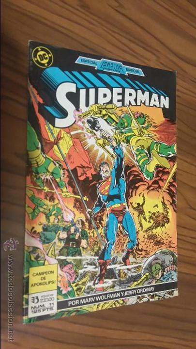 SUPERMAN 11. MAR WOLFMAN, JERRY ORDWAY. CAMPEÓN DE APOKOLIPS. BUEN ESTADO (Tebeos y Comics - Zinco - Superman)