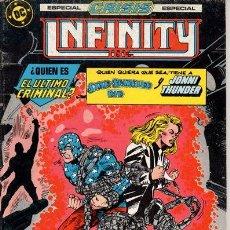 Cómics: INFINITY INC. ESPECIAL CRISIS. Nº 21. COMIC. EDICIONES ZINCO. DC. 1986. . Lote 52664087