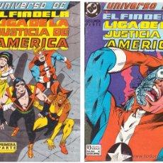 Comic Universo DC: El fin de la Liga de la Justicia de America, Primera y Segunda parte - Completa