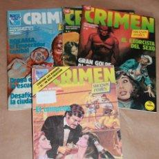 Cómics: RELATOS PARA ADULTOS - CRIMEN 4 48 49 50 51 82 84 - ED ZINCO 1981 - Y SUELTOS. Lote 52699601