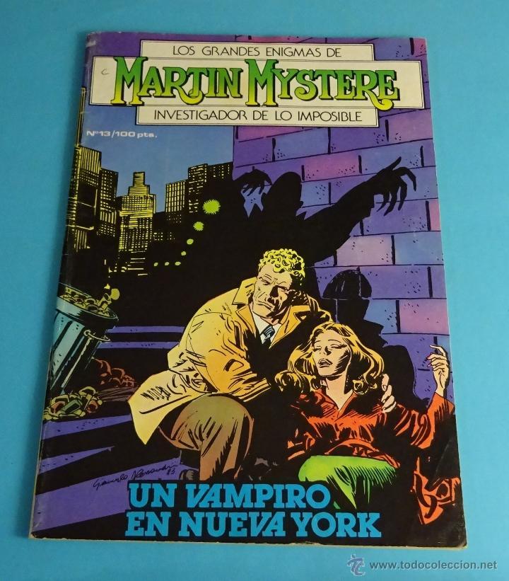 UN VAMPIRO EN NUEVA YORK. LOS GRANDES ENIGMAS DE MARTIN MYSTERE, INVESTIGADOR DE LO IMPOSIBLE. Nº 13 (Tebeos y Comics - Zinco - Otros)