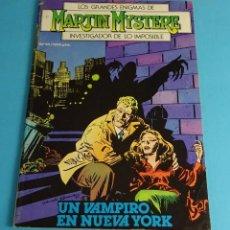 Cómics: UN VAMPIRO EN NUEVA YORK. LOS GRANDES ENIGMAS DE MARTIN MYSTERE, INVESTIGADOR DE LO IMPOSIBLE. Nº 13. Lote 52733824