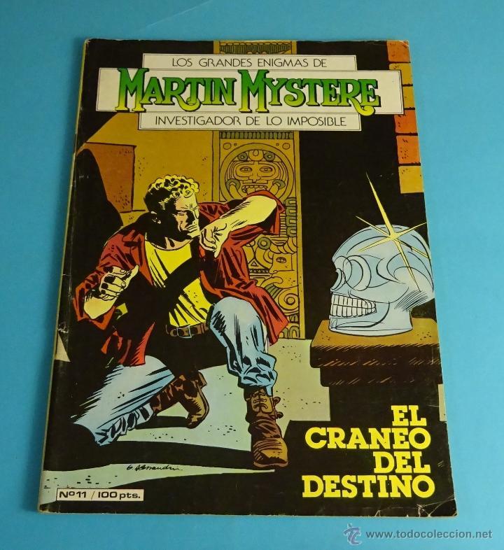 EL CRÁNEO DEL DESTINO. LOS GRANDES ENIGMAS DE MARTIN MYSTERE, INVESTIGADOR DE LO IMPOSIBLE. Nº 11 (Tebeos y Comics - Zinco - Otros)