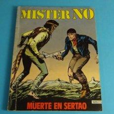 Cómics: MUERTE EN SERTAO. MISTER NO. Nº 4. Lote 52734039