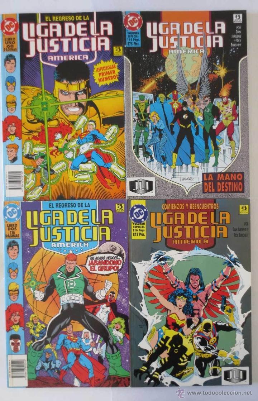 EL REGRESO DE LA LIGA DE LA JUSTICIA AMERICA COMPLETA ZINCO (Tebeos y Comics - Zinco - Liga de la Justicia)