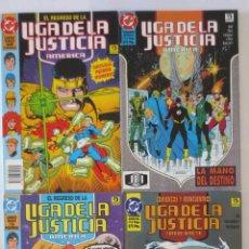 Cómics: EL REGRESO DE LA LIGA DE LA JUSTICIA AMERICA COMPLETA ZINCO. Lote 70471333