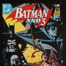 Cómics: BATMAN AÑO 3 Nº1 / DC COMICS / ZINCO 1990 (MARV WOLFMAN & PAT BRODERICK). Lote 52998454