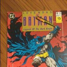 Cómics: LEYENDAS DE BATMAN 23. FE. CAPÍTULO TRES. . Lote 53021968