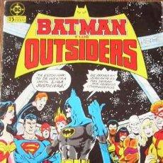 Comics: BATMAN Y LOS OUTSIDERS Nº 1. Lote 53043272