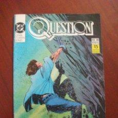 Comics: QUESTION Nº 36 ZINCO C6 . Lote 53051352