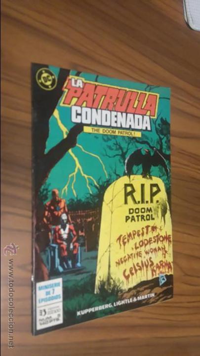 LA PATRULLA CONDENADA 5 (Tebeos y Comics - Zinco - Patrulla Condenada)