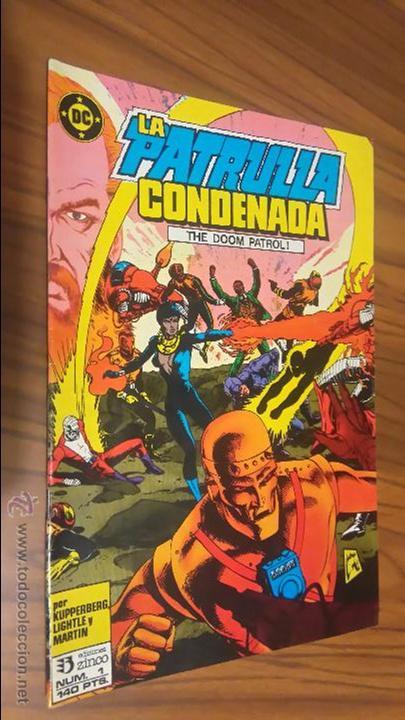 LA PATRULLA CONDENADA 1 (Tebeos y Comics - Zinco - Patrulla Condenada)