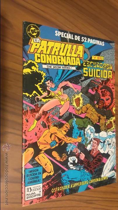 LA PATRULLA CONDENADA. ESCUADRÓN SUICIDA INVITADOS. 52 PÁGINAS. (Tebeos y Comics - Zinco - Patrulla Condenada)