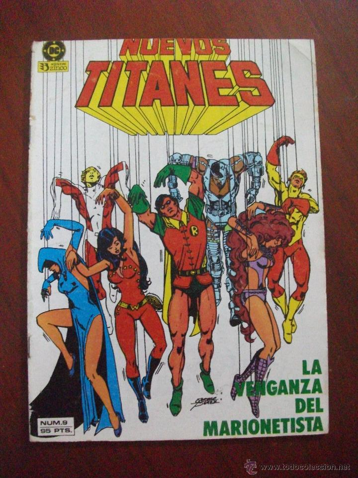 NUEVOS TITANES 9 ZINCO C6 (Tebeos y Comics - Zinco - Nuevos Titanes)