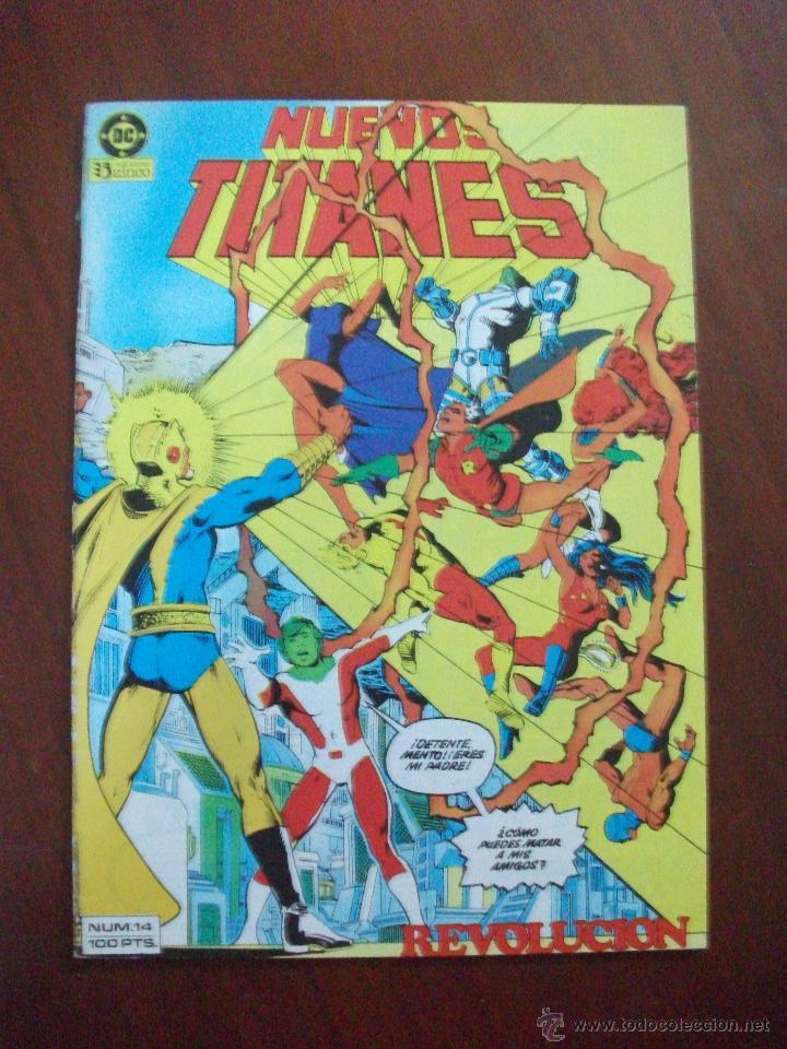 NUEVOS TITANES 14 ZINCO C6 (Tebeos y Comics - Zinco - Nuevos Titanes)