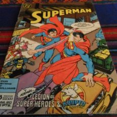 Cómics: ZINCO SUPERMAN Nº 20. 140 PTS. 1987. LA LEGIÓN DE SUPERHÉROES & KRYPTO EL SUPERPERRO.. Lote 53100506