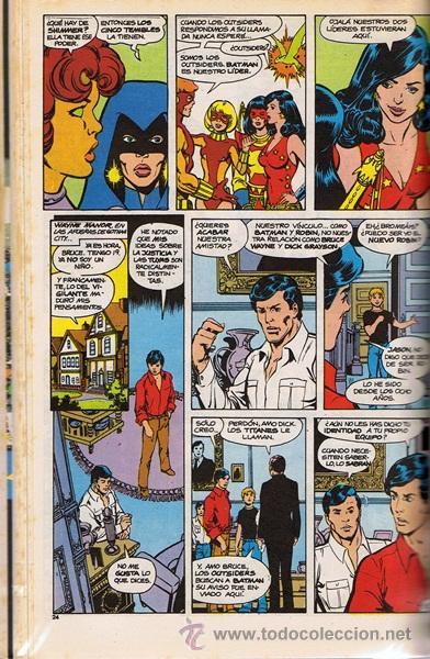 Cómics: NUEVOS TITANES Nos. 31 AL 35 RETAPADO - Foto 5 - 41005094