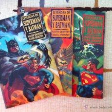 Cómics: LEYENDAS DE SUPERMAN Y BATMAN. OBRA COMPLETA, 3 TOMOS. SIMONSON/BRERETON. ZINCO 1995. IMPECABLES.. Lote 53262433