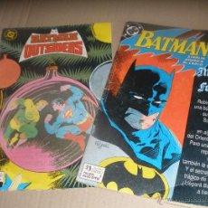 Cómics: DOS COMIC DE BATMAN. -DC- NUMEROS 1 Y 14.EDICIONES ZINCO.. Lote 53341359