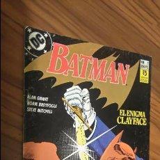 Comics - BATMAN 1. EL ENIGMA CLYFACE. GRANT, BREYFOGLE, MITCHELL. BUEN ESTADO - 53490596