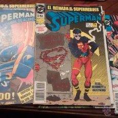 Cómics: SUPERMAN EL REINADO DE LOS SUPERHEROES COMPLETA. Lote 100296083
