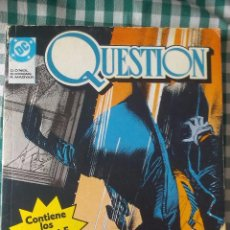 Cómics: RETAPADO DE LA SERIE QUESTION CON LOS NUMEROS 1, 2, 3, 4 Y 5. EDITORIAL ZINCO . Lote 53520941