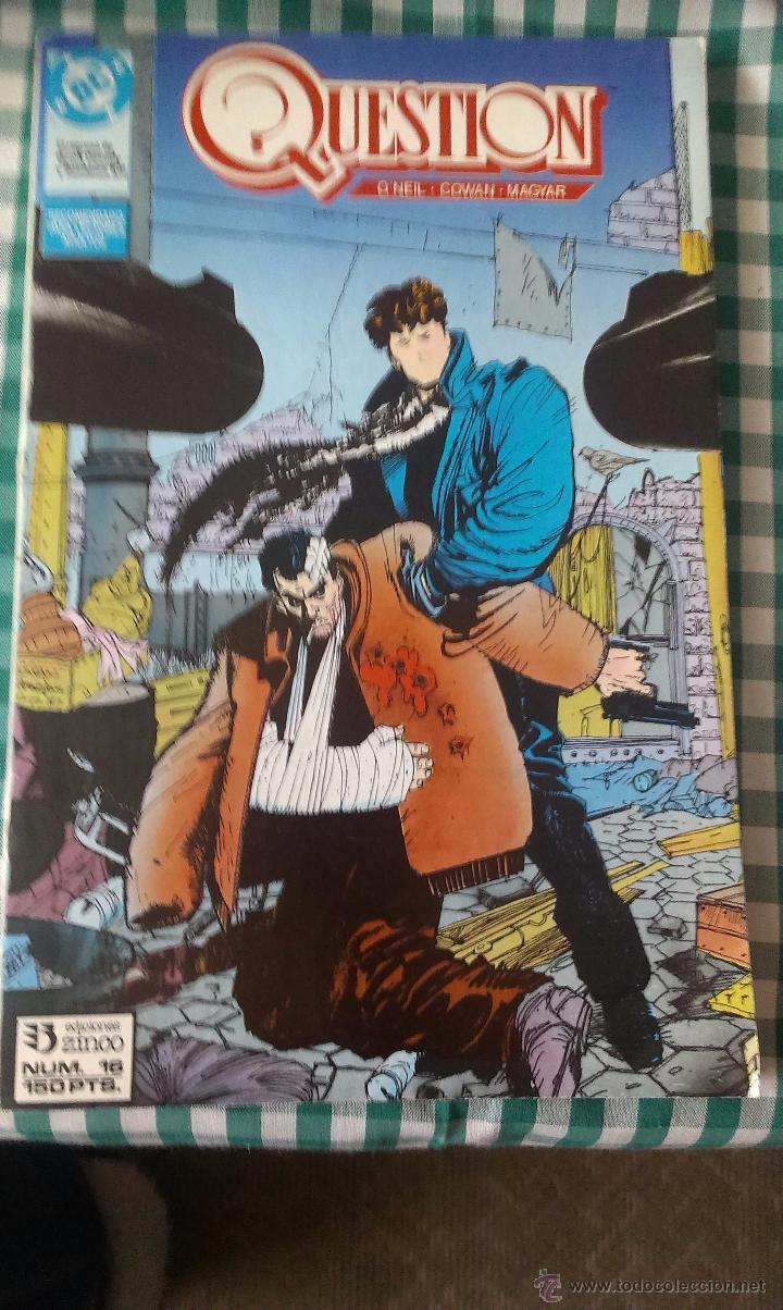 NUMEROS 16, 17 Y18 DE LA SERIE QUESTION, PROCEDENTES DE RETAPADO, EDITORIAL ZINCO (Tebeos y Comics - Zinco - Question)