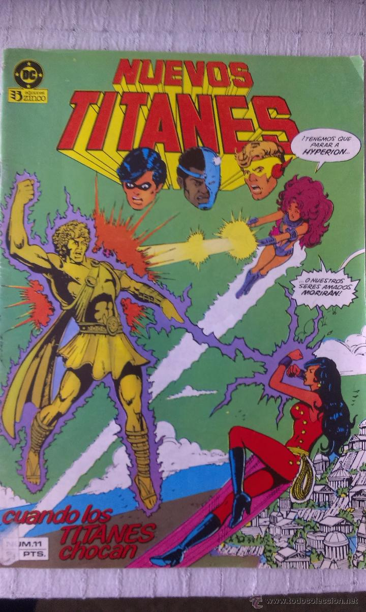 NUEVOS TITANES 11, EDITORIAL ZINCO, 1984, GEORGE PEREZ Y MARV WOLFMAN (Tebeos y Comics - Zinco - Nuevos Titanes)