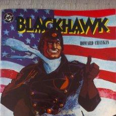Cómics: TOMO PRESTIGE, BLACKHAWK LIBRO UNO, SANGRE Y HIERRO, ZINCO 1989, POR HOWARD CHAYKIN. Lote 53521590