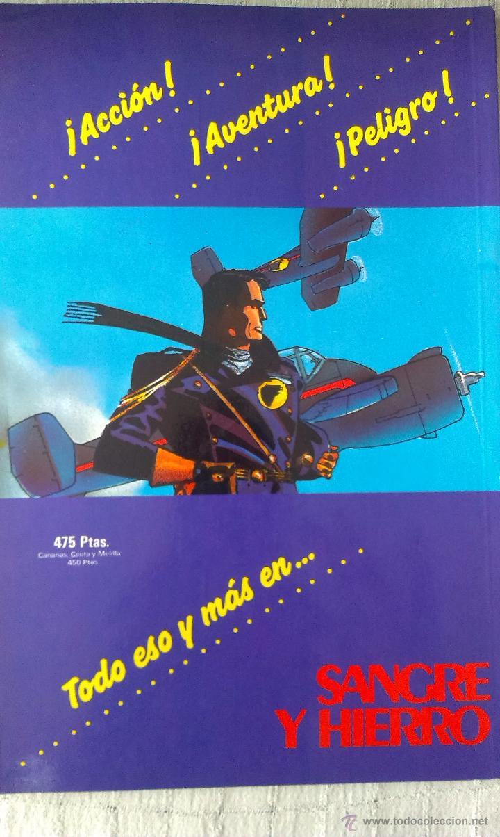 Cómics: TOMO PRESTIGE, BLACKHAWK LIBRO UNO, SANGRE Y HIERRO, ZINCO 1989, POR HOWARD CHAYKIN - Foto 2 - 53521590