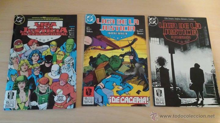 Cómics: Liga de la Justicia Internacional del 16 al 23 y el 26 - Ediciones Zinco - Foto 2 - 53542067