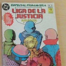 Cómics: LIGA DE LA JUSTICIA AMERICA ESPECIAL PRIMAVERA Nº 5 - BUEN ESTADO. Lote 141470004