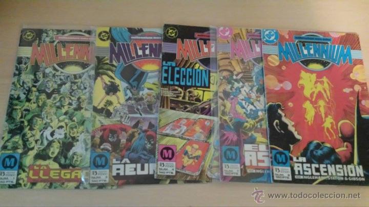 MILLENNIUM NºS 1, 3, 4, 7, 8 - EDICIONES ZINCO (Tebeos y Comics - Zinco - Millenium)