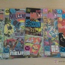 Cómics: MILLENNIUM NºS 1, 3, 4, 7, 8 - EDICIONES ZINCO. Lote 53542357