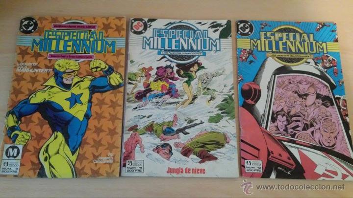 ESPECIAL MILLENNIUM NºS 8, 11 Y 12 - EDICIONES ZINCO (Tebeos y Comics - Zinco - Millenium)