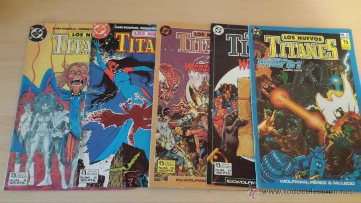 LOS NUEVOS TITANES VOL. 2 EDICIONES ZINCO - LOTE DE 16 NÚMEROS - DESCRIPCIÓN Y FOTOS EN ANUNCIO (Tebeos y Comics - Zinco - Nuevos Titanes)