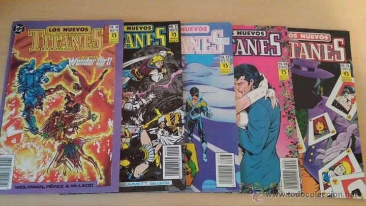 Cómics: Los Nuevos Titanes Vol. 2 Ediciones Zinco - Lote de 16 números - descripción y fotos en anuncio - Foto 2 - 53544813