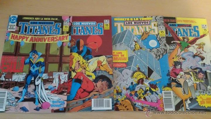 Cómics: Los Nuevos Titanes Vol. 2 Ediciones Zinco - Lote de 16 números - descripción y fotos en anuncio - Foto 3 - 53544813