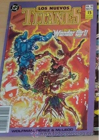 LOS NUEVOS TITANES VOL. 2 EDICIONES ZINCO Nº 14 - BUEN ESTADO PERO FALTA POSTER CENTRAL (Tebeos y Comics - Zinco - Nuevos Titanes)