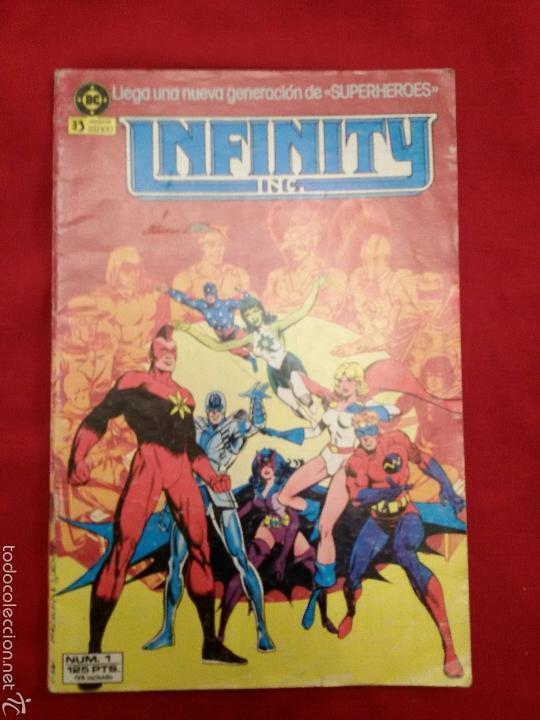 INFINITY INC 1 GENERACIONES 1986 EDITORIAL ZINCO 1986 ROY THOMAS JERRY ORDWAY #1161 (Tebeos y Comics - Zinco - Infinity Inc)