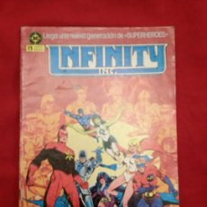 Cómics: INFINITY INC 1 GENERACIONES 1986 EDITORIAL ZINCO 1986 ROY THOMAS JERRY ORDWAY #1161. Lote 53592945