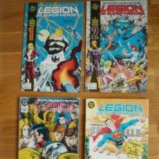 Cómics: LEGION DE SUPER HEROES 1 AL 13. Lote 53692769