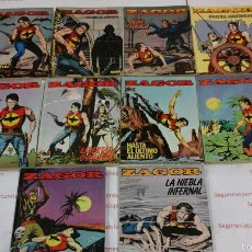 Cómics: LOTE - ZAGOR - N°1 AL 10 - ED. ZINCO 1982. Lote 53747503