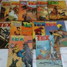 Cómics: LOTE COMPLETO - TEX - N ° 1 AL 13 - ZINCO . Lote 53761593