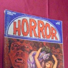 Comics : HORROR. Nº 32. EL DESEO DE LA MUERTE. EDICIONES ZINCO.. Lote 53832013