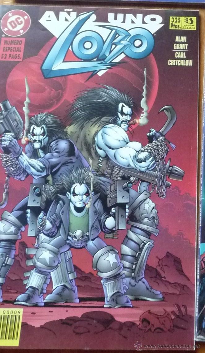 LOBO AÑO 1 NÚMERO ESPECIAL (52 PAGS) EDICIONES ZINCO (Tebeos y Comics - Zinco - Lobo)